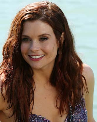Plays ariel in once upon a time so perhaps she d make a good fit